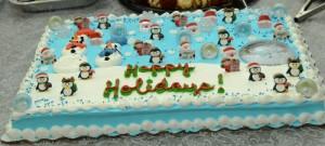 the Christmas cake!