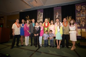 Governor George Ariyoshi and family at his 88th birthday party