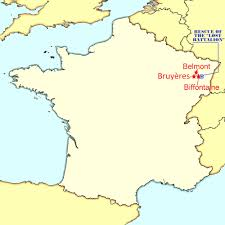 map of the bruyeres area