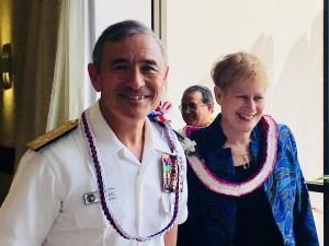 Admiral Harris and Bruni Bradley 4.21.2018